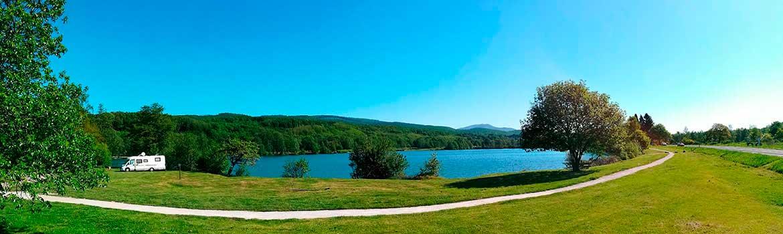 Photo panoramique de La Villa Bleue